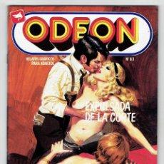 Cómics: ODEON Nº 83 - EXPULSADA DE LA CORTE - EL MONSTRUO DE CHINATOWN - EDICIONES ZINCO ''BUEN ESTADO''. Lote 269754723