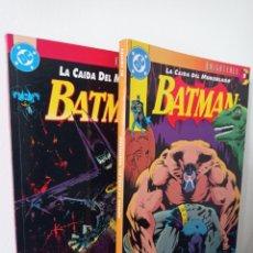 Cómics: BATMAN - LA CAÍDA DEL MURCIÉLAGO - KNIGHTFALL - 2 TOMOS - ZINCO - APARO DIXON NOLAN MOENCH. Lote 269946028