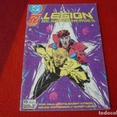 Cómics: LEGION DE SUPER-HEROES Nº 19 ESPECIAL ( LEVITZ KITSON ) DC ZINCO SUPERHEROES. Lote 269995568