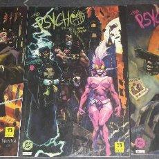 Cómics: THE PSYCHO COMPLETA 3 COMICS EDICIONES ZINCO DC. Lote 269997038