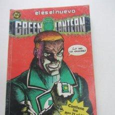 Cómics: GREEN LANTERN. TOMO RETAPADO Nº 5. CONTIENE LOS Nº: 21 AL 25 ZINCO BUEN ESTADO E5. Lote 270127498