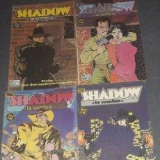 Cómics: THE SHADOW LA SOMBRA COMPLETA 4 COMICS EDICIONES ZINCO. Lote 270218918