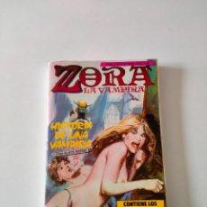 Cómics: CÓMIC ZORA LA VAMPIRA NÚMERO 1 AL 4 EDICIONES ZINCO AÑO 1986. Lote 270223083