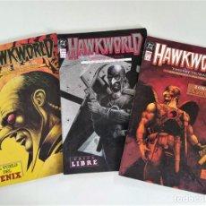 Cómics: HAWKWORLD (TIM TRUMAN & ALCATENA) - COMPLETA 3 TOMOS ~ DC / ZINCO (1990). Lote 270373743