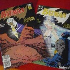 Cómics: BATMAN EL ENIGMA CLAYFACE NºS 1 Y 2 COMPLETA ( ALAN GRANT ) ¡BUEN ESTADO! DC ZINCO. Lote 270517678