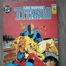 Cómics: LOS NUEVOS TITANES VOL.2 RETAPADO CON EL 31 AL 36 DE ZINCO. WOLFMAN Y GRUMMET. Lote 270597648