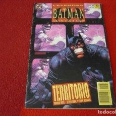 Cómics: LEYENDAS DE BATMAN Nº 42 TERRITORIO ( GRANT ) ¡BUEN ESTADO! DC ZINCO. Lote 270676073