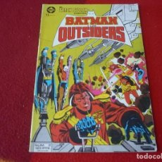 Cómics: BATMAN Y LOS OUTSIDERS Nº 2 ( BARR APARO ) ¡BUEN ESTADO! DC ZINCO. Lote 270676298