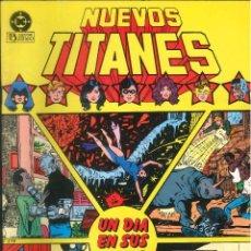 Comics : NUEVOS TITANES EDICIONES ZINCO DC CÓMICS NÚMERO 8. Lote 270878663