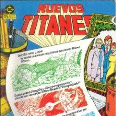 Comics : NUEVOS TITANES EDICIONES ZINCO DC CÓMICS NÚMERO 20. Lote 270878998