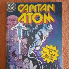 Cómics: CAPITAN ATOM: Nº 1, 2, 3 Y 4. RETAPADO DC COMICS. EDICIONES ZINCO. Lote 270881958