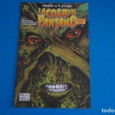 Cómics: COMIC DE LA COSA DEL PANTANO AÑO 1988 Nº 1 DE EDICIONES ZINCO LOTE 23 E. Lote 270915883