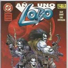 Cómics: ZINCO. LOBO. A�O UNO.. Lote 271165083