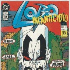 Cómics: ZINCO. LOBO. INFANTICIDIO. 3. Lote 271165113