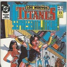 Comics : ZINCO. LOS NUEVOS TITANES. 15.. Lote 276413388