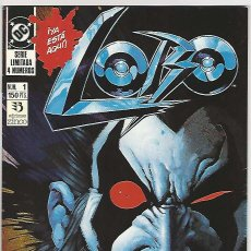 Cómics: ZINCO. LOBO. SERIE LIMITADA DE 4. 1. Lote 271165143