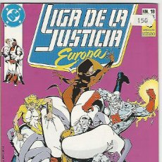 Cómics: ZINCO. LIGA DE LA JUSTICIA EUROPA. 18.. Lote 271165263