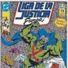 Cómics: ZINCO. LIGA DE LA JUSTICIA EUROPA. 28.. Lote 271165283