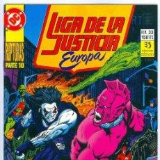 Comics : ZINCO. LIGA DE LA JUSTICIA EUROPA. 33.. Lote 271165303