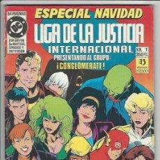 Cómics: ZINCO. LIGA DE LA JUSTICIA. 1. INTERNACIONAL. ESPECIAL NAVIDAD.. Lote 271165503