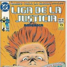 Cómics: ZINCO. LIGA DE LA JUSTICIA. AM�RICA. 40.. Lote 271165618