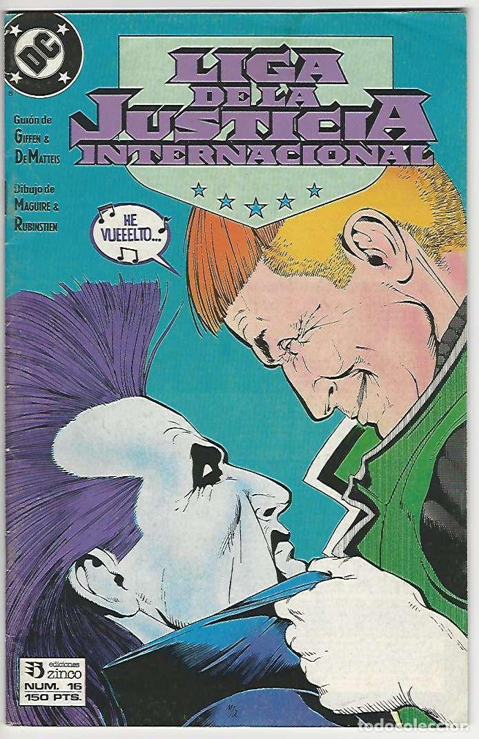 ZINCO. LIGA DE LA JUSTICIA. INTERNACIONAL. 16. (Tebeos y Comics - Zinco - Liga de la Justicia)