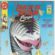 Cómics: ZINCO. LIGA DE LA JUSTICIA EUROPA. 24.. Lote 271165708