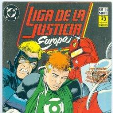 Cómics: ZINCO. LIGA DE LA JUSTICIA EUROPA. 11.. Lote 271165803