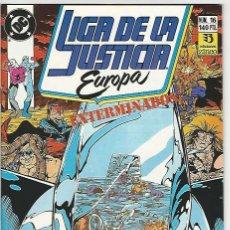 Cómics: ZINCO. LIGA DE LA JUSTICIA EUROPA. 16.. Lote 271165828