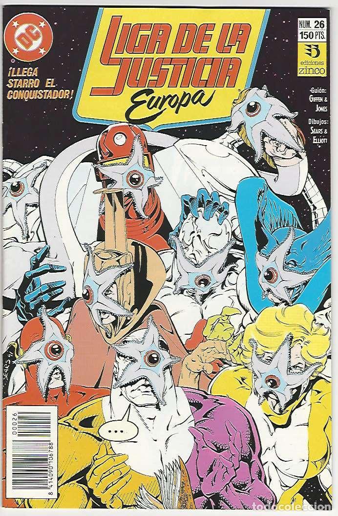 ZINCO. LIGA DE LA JUSTICIA EUROPA. 26. (Tebeos y Comics - Zinco - Liga de la Justicia)