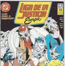 Cómics: ZINCO. LIGA DE LA JUSTICIA EUROPA. 26.. Lote 271165878