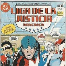 Cómics: ZINCO. LIGA DE LA JUSTICIA. AMÉRICA. 36.. Lote 271166118