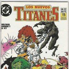 Cómics: ZINCO. LOS NUEVOS TITANES. 22.. Lote 271166128