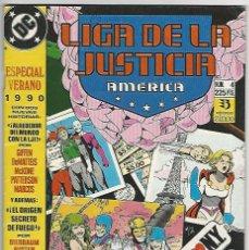 Cómics: ZINCO. LIGA DE LA JUSTICIA. 4. AMÉRICA. ESPECIAL VERANO. 1990.. Lote 271166188