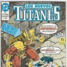 Cómics: ZINCO. LOS NUEVOS TITANES. 37.. Lote 271166193