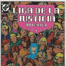 Cómics: ZINCO. LIGA DE LA JUSTICIA. AMÉRICA. 23.. Lote 271166213