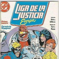 Cómics: ZINCO. LIGA DE LA JUSTICIA EUROPA. 1.. Lote 271166218