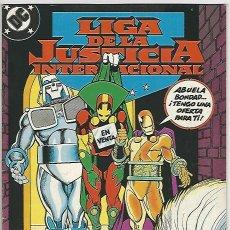Cómics: ZINCO. LIGA DE LA JUSTICIA. INTERNACIONAL. 17.. Lote 271166233