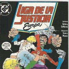 Cómics: ZINCO. LIGA DE LA JUSTICIA EUROPA. 5. Lote 271166243