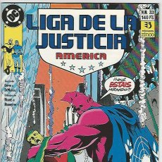 Cómics: ZINCO. LIGA DE LA JUSTICIA. AMÉRICA. 33.. Lote 271166263