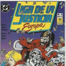 Cómics: ZINCO. LIGA DE LA JUSTICIA EUROPA. 10.. Lote 271166268