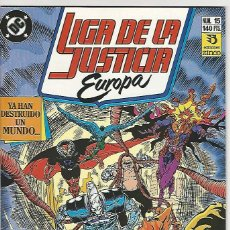 Cómics: ZINCO. LIGA DE LA JUSTICIA EUROPA. 15.. Lote 271166298