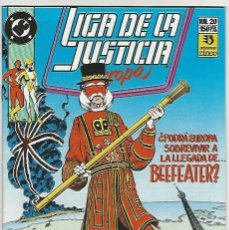 Cómics: ZINCO. LIGA DE LA JUSTICIA EUROPA. 20.. Lote 271166328