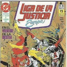 Cómics: ZINCO. LIGA DE LA JUSTICIA EUROPA. 25.. Lote 271166353