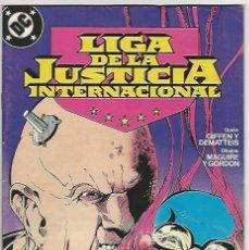 Cómics: ZINCO. LIGA DE LA JUSTICIA. INTERNACIONAL. 14.. Lote 271166373