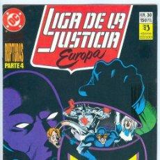Cómics: ZINCO. LIGA DE LA JUSTICIA EUROPA. 30.. Lote 271166378