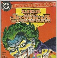 Cómics: ZINCO. LIGA DE LA JUSTICIA. 3. INTERNACIONAL. ESPECIAL VERANO.. Lote 271166673
