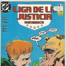 Cómics: ZINCO. LIGA DE LA JUSTICIA. AMÉRICA. 27.. Lote 271166723