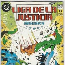 Cómics: ZINCO. LIGA DE LA JUSTICIA. AMÉRICA. 32.. Lote 271166758