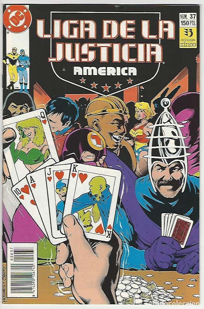 ZINCO. LIGA DE LA JUSTICIA. AMÉRICA. 37. (Tebeos y Comics - Zinco - Liga de la Justicia)